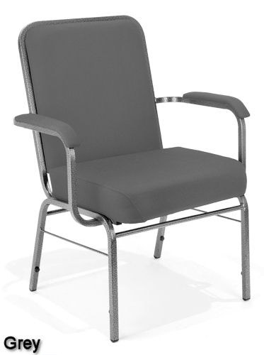 Gray - Bariatric Stack Chair
