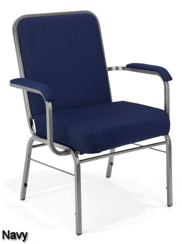 Navy - Bariatric Stack Chair
